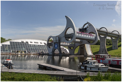 Falkirk Wheel - rotating boat lift (03)