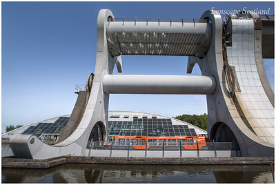 Falkirk Wheel - rotating boat lift (06)