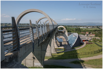 Falkirk Wheel - rotating boat lift (09)