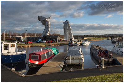 Kelpies Marina, Forth & Clyde Canal (2)