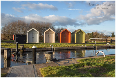 Kelpies Marina, Forth & Clyde Canal (1)