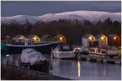 Kelpies Marina, Forth & Clyde Canal (3)