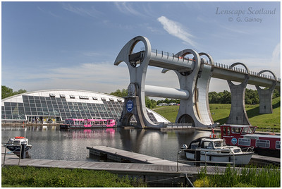 Falkirk Wheel - rotating boat lift (04)