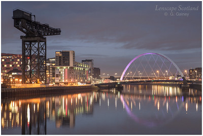 Finnieston Crane and the Clyde Arc bridge (2)
