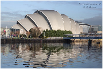 Scottish Exhibition Centre - the 'Armadillo'