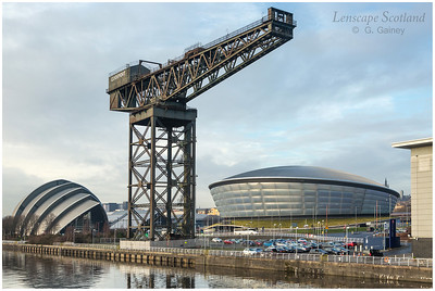 Finnieston Crane, Scottish Exhibition Centre and SSE Hydro