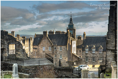 Tolbooth from Holy Rude cemetery (2)