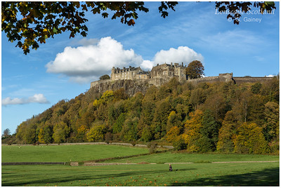 Stirling Castle from King's Knot (2)