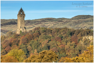 Wallace  Monument from Old Stirling Bridge