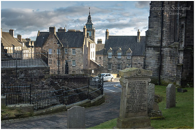 Tolbooth from Holy Rude cemetery (1)