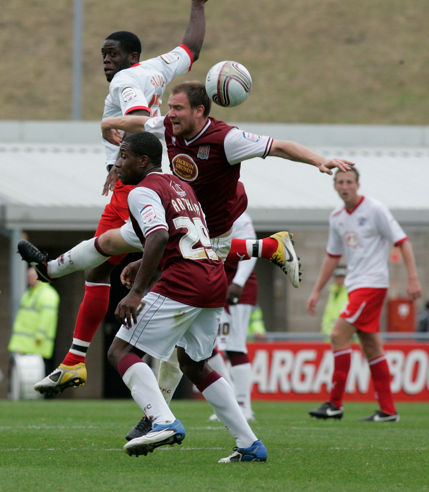 npower League Two - Northampton Town vs. Crawley Town - 08/10/11