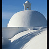 """Spanish Mission Dome"" Honorable Mention - Digital Projection Jeanne Connell"