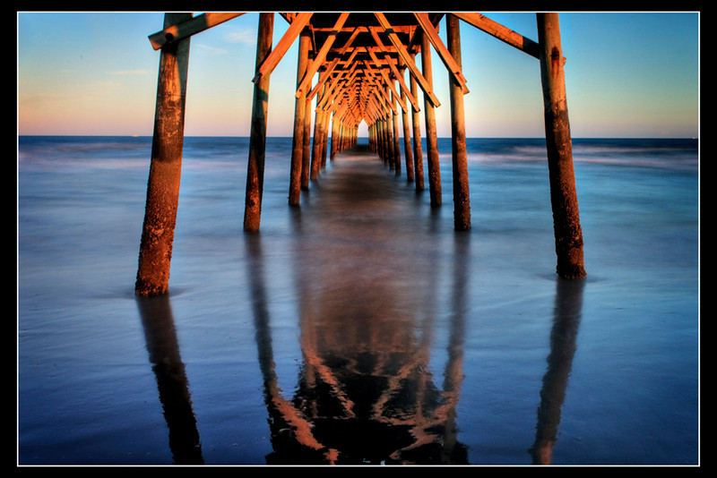 """""""Sunset Beach NC""""<br /> 1st Place - Projected Images<br /> Buddy Birdwell"""