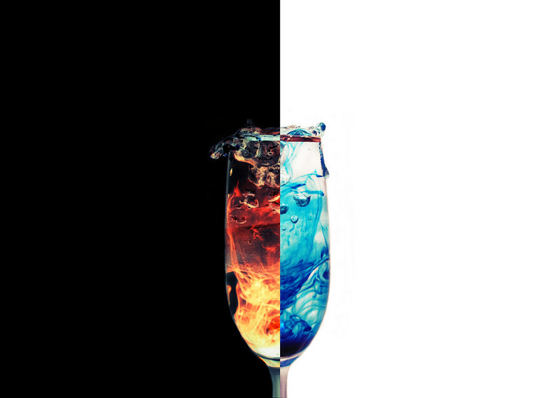 """""""Fire and Ice""""<br /> Honorable Mention - Projected Images<br /> William Mahnken"""