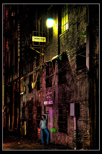 """In the Lyric Alley""<br /> Honorable Mention - Projected Images<br /> Buddy Birdwell"