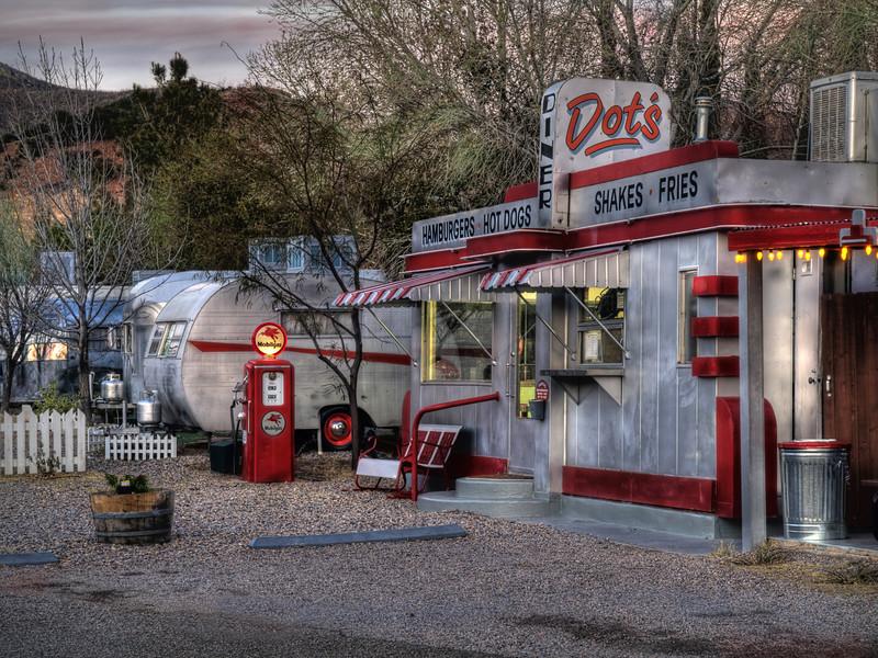 """""""Dot's Diner""""<br /> 2nd Place - Digital Projection<br /> Ken Boyd"""