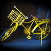 """Yellow Bike""<br /> Honorable Mention - Digital Projection<br /> George Ritchey"