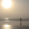 """Foggy Morning Fisherman""<br /> Honorable Mention - Projected Images<br /> Penny Wegener"