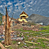 """Tornado Aftermath""<br /> Honorable Mention - Projected Images<br /> Steve Grunfeld"