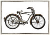 """Rusty Bicycle""<br /> 1st Place - Alternative Prints<br /> Ken Boyd"