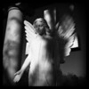 """Evening Angel""<br /> HM - Black & White Prints<br /> Robert Caldwell"