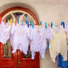"""""""Laundry Day In Mykonos""""<br /> Honorable Mention - Digital Projection<br /> Terry Yarbrough"""