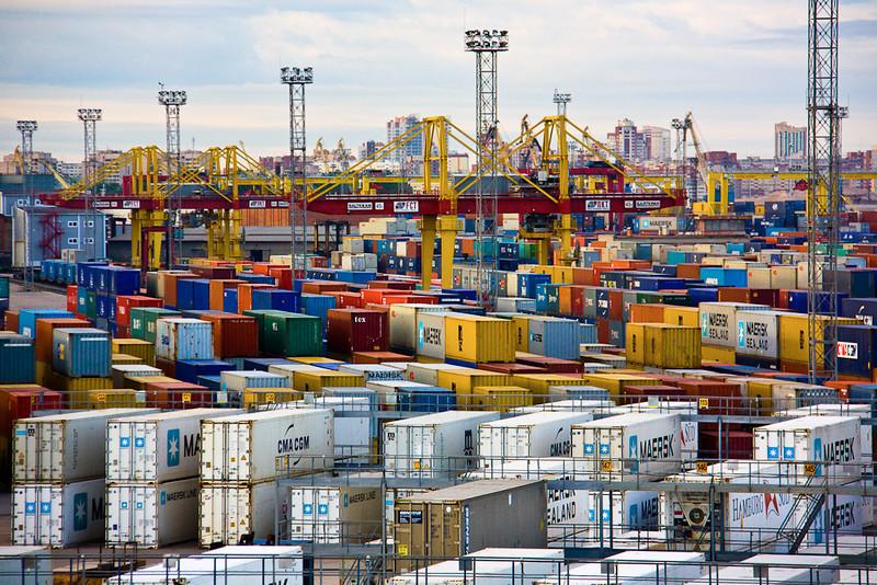 """""""St. Petersburg Docks""""<br /> 1st Place - Digital Projection<br /> David Paden"""