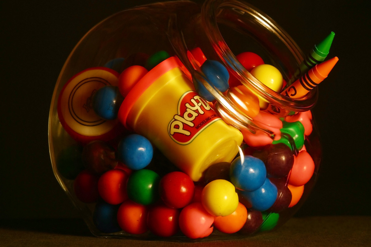 """""""The Candy Jar""""<br /> 1st Place - Digital Projection<br /> Ira Lewis"""