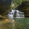 """Mize Mill Falls""<br /> Honorable Mention - Digital Projection<br /> Ken Gables"