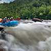 """Rafting The Ocoee""<br /> 1st Place - Digital Projection<br /> Ken Gables"