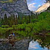"""Reflecting At Mirror Lake""<br /> Honorable Mention - Digital Projection<br /> Terry Yarbrough"