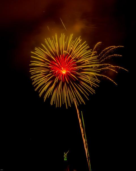 Fireworks at Vulcan