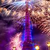 Eiffel Tower on Bastille Day