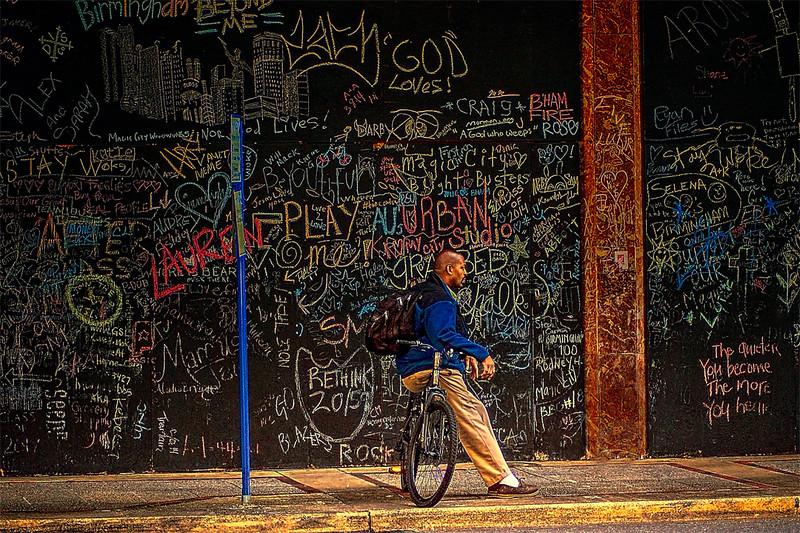 Street Life In Birmingham