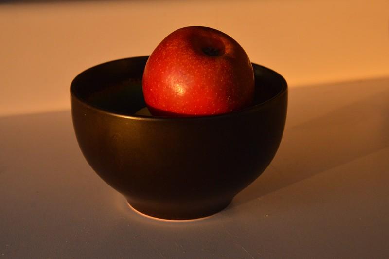 Sunlit Apple