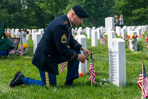 2017 Memorial Day at Arlington National Cemetery