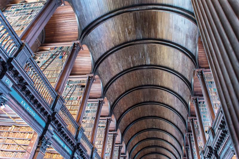 Trinity College Library, Dublin - Carol Eidson