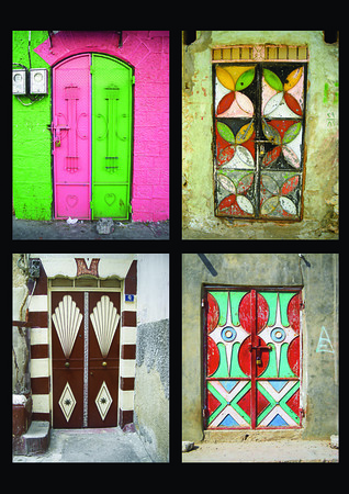 a selection of metal doors in the Mideast - 2
