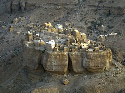 a disappearing village in Wadi Duwan in the Haudramaut area of Yemen
