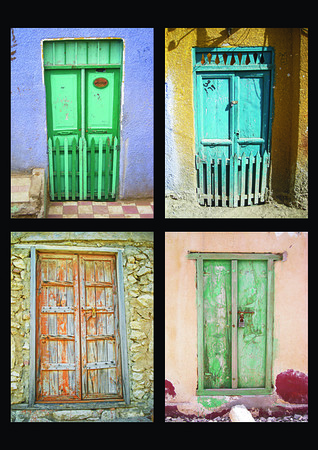 a selection of Mideast doors -1