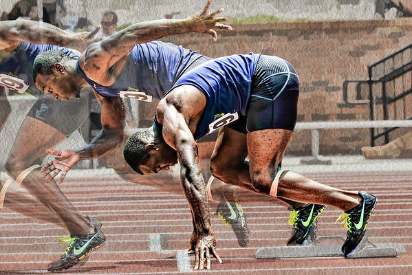 2020 Artistic Print Image of the Year: Sprinter