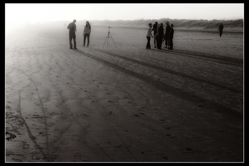 """Photos On The Beach""<br /> Honorable Mention - Digital Projection<br /> Buddy Birdwell"