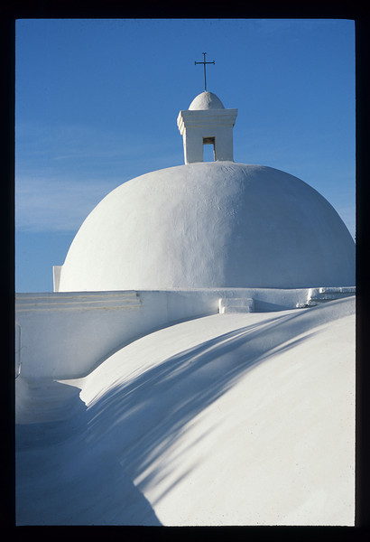 """""""Spanish Mission Dome""""<br /> Honorable Mention - Digital Projection<br /> Jeanne Connell"""