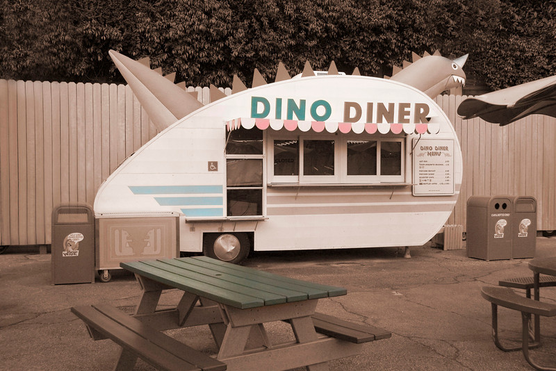 """Dino Diner""<br /> 2nd Place - Alternative Prints<br /> DJ Boyd"