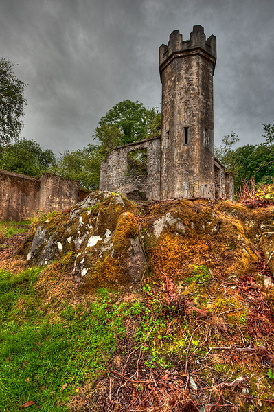 """""""Irish Ruins""""<br /> Honorable Mention - Projected Images<br /> Steve Grunfeld"""