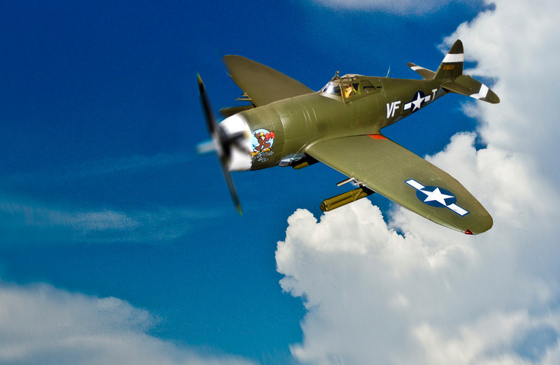 """Spitfire""<br /> Honorable Mention - Digital Projection<br /> George Ritchey"