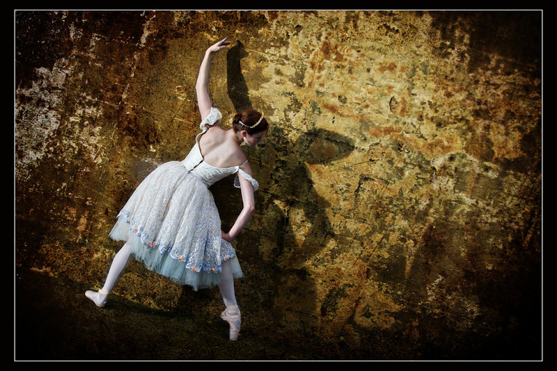 """""""Ballerina #4""""<br /> Honorable Mention - Digital Projection<br /> Buddy Birdwell"""
