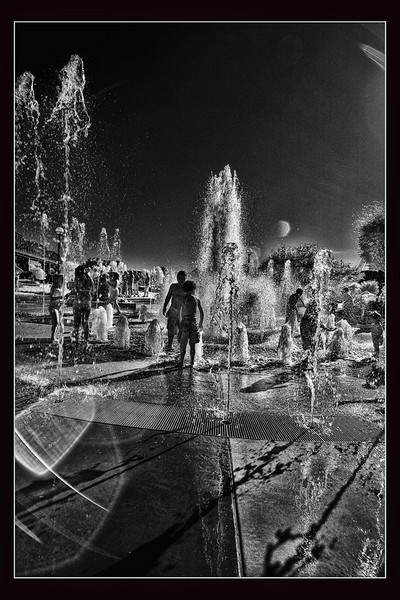"""""""Water Park""""<br /> 2nd Place - Digital Projection<br /> Buddy Birdwell"""