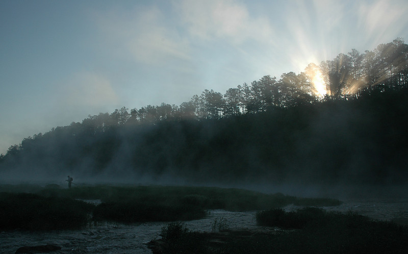 """""""River Sunrise""""<br /> 2nd Place - Projected Images<br /> Dan Connell"""
