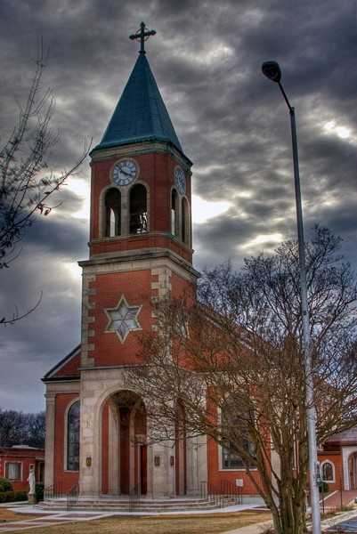 """""""St. Elias Maronite Church""""<br /> Honorable Mention - Projected Images<br /> Gary Ricketts"""
